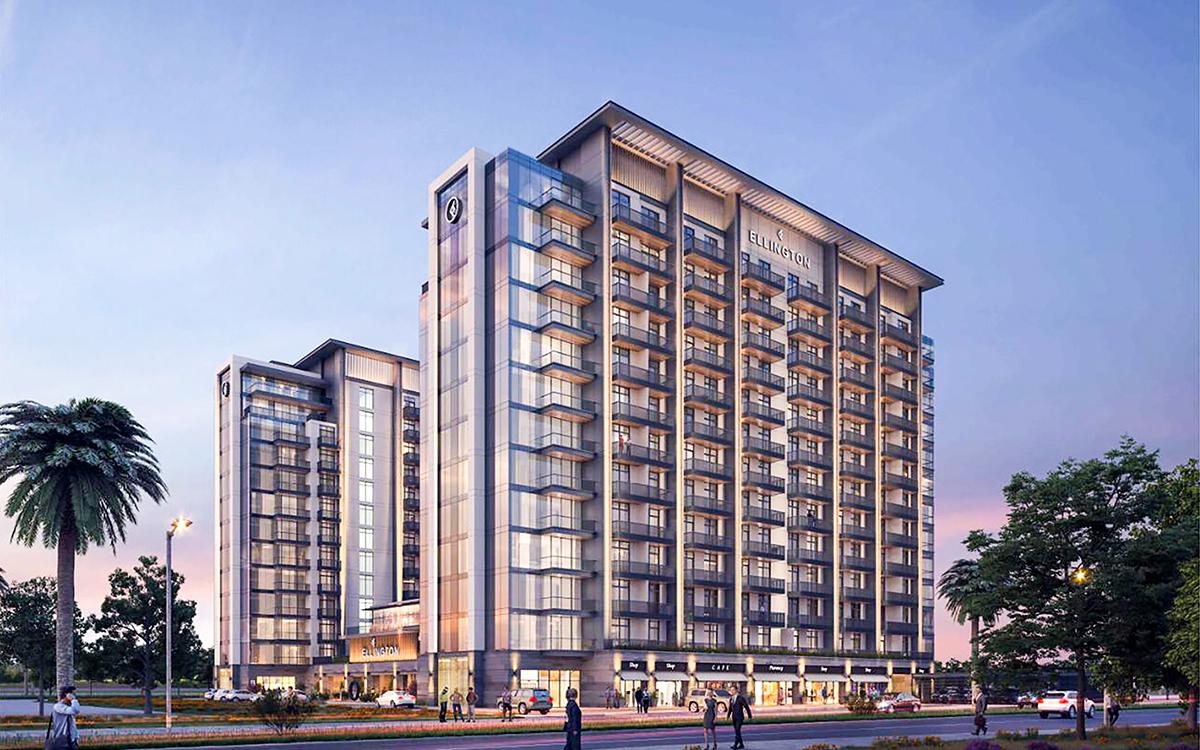 Kensington Waters by Ellington Properties in Meydan, MBR City Dubai