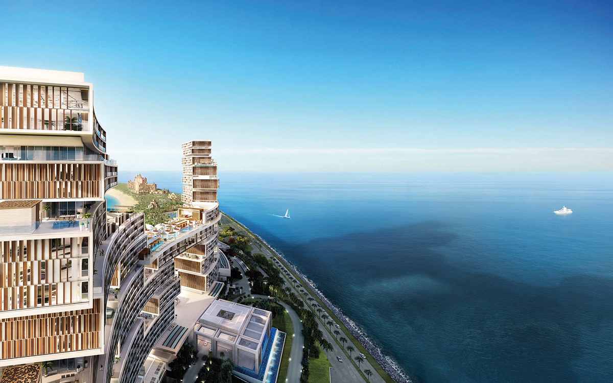 Atlantis, The Royal Residences