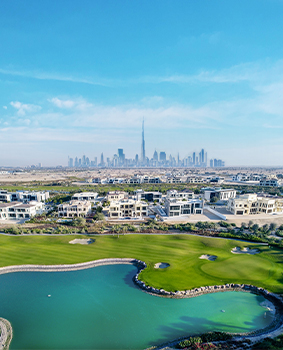 Elie Saab design villas in Dubai Hills Estate by Emaar