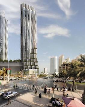 Boulevard Point Apartments in Downtown Dubai