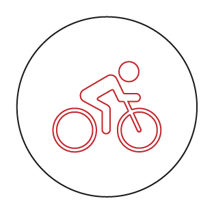 8km cycling track